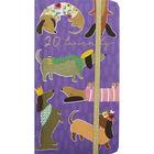 Purple Sausage Dog 2020 Slim Week to View Pocket Diary image number 1