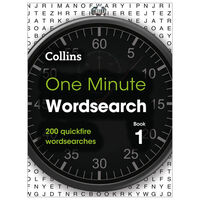 One Minute Wordsearch Book 1: 200 Quickfire Wordsearches