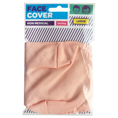 Light Pink Reusable Face Covering image number 1