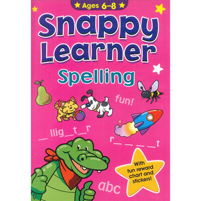 Snappy Learner: Spelling - Ages 6-8 image number 1