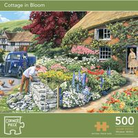 500 Piece Cottage in Bloom Jigsaw Puzzle