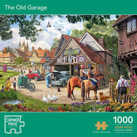 The Old Garage 1000 Piece Jigsaw Puzzle