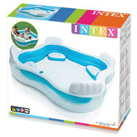 Intex Inflatable Swim Center Family 4 Seat Lounge Pool