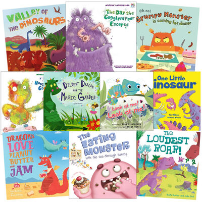 Friendly Monsters: 10 Kids Picture Books Bundle image number 1