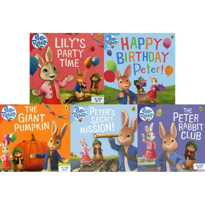 The Adventures of Peter Rabbit: 10 Kids Picture Books Bundle image number 2