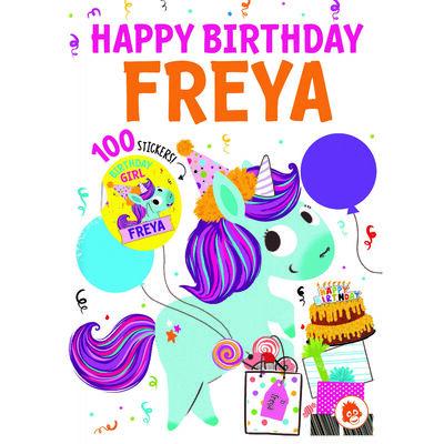 Happy Birthday Freya image number 1