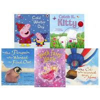 Winter Snuggles: 10 Kids Picture Books Bundle
