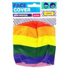 Rainbow Reusable Face Covering image number 1