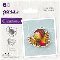 Gemini Stamp & Die Set: Wobbling Robin