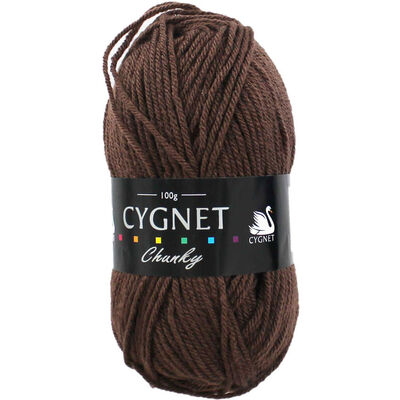 Cygnet Chunky Chocolate Yarn - 100g image number 1