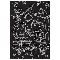 Princesses: Scratch Art