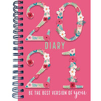 A6 Best Version 2021 Week To View Diary