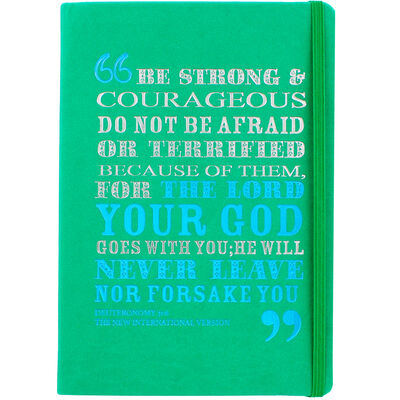 A5 Case Bound PU Be Strong Notebook image number 1