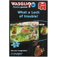 Wasgij Mystery 2 What a Loch of Trouble 150 Piece Jigsaw Puzzle