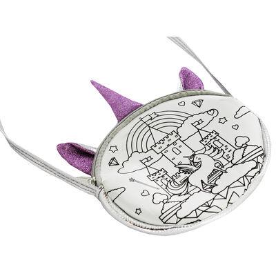 Colour Your Own Handbag - Magical Unicorn image number 2
