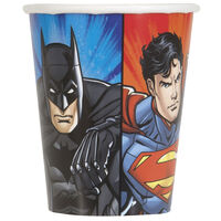 Justice League Paper Cups - 8 Pack