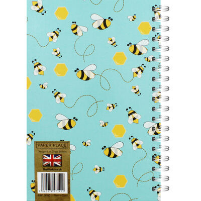 A5 Wiro Bee Lined Notebook image number 3
