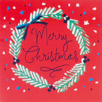 Christmas Message Cards: Pack Of 20