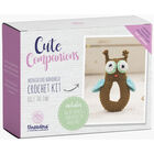Cute Companions Miniature Handheld Crochet Kit - Olly the Owl image number 1