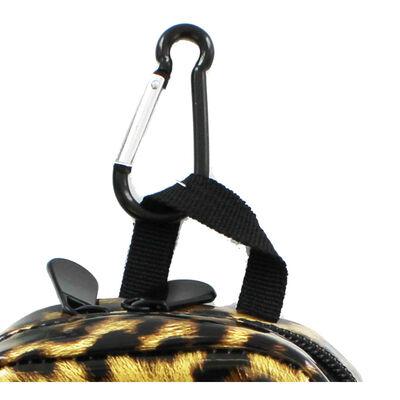 Gold Leopard Print Mini Backpack image number 2