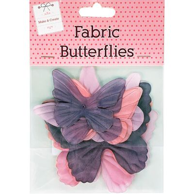 Fabric Butterflies image number 1