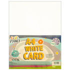 A4 Craft Planet White Card: Pack of 30 image number 1