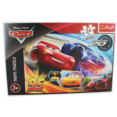 Disney Cars 24 Piece Maxi Jigsaw Puzzle image number 2