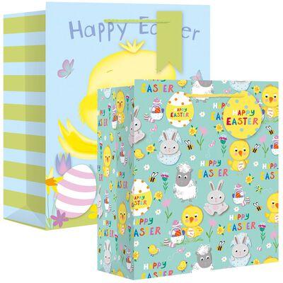 Easter Assorted Gusset Gift Bag Bundle of 10 image number 1