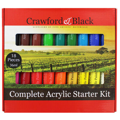 Complete Acrylic Starter Kit image number 1