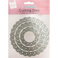 Lace Doily Metal Cutting Die Set