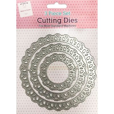 Lace Doily Metal Cutting Die Set image number 1
