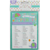 Baby Shower Purse Game - Pack of 24