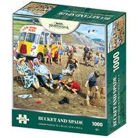 Bucket & Spade 1000 Piece Jigsaw Puzzle