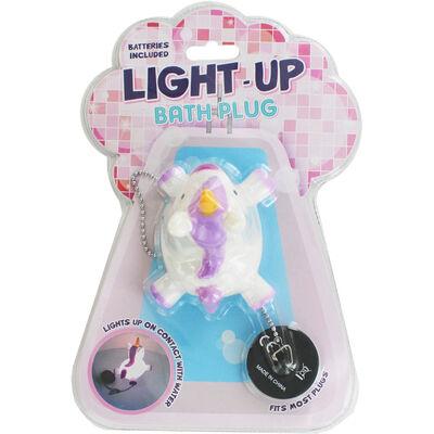 Light Up Unicorn Bath Plug image number 1