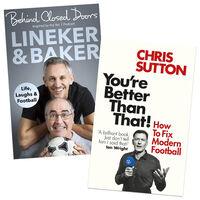 Chris Sutton & Linker & Baker Football 2 Book Bundle