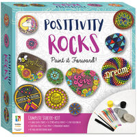 Positivity Rock Painting Kit