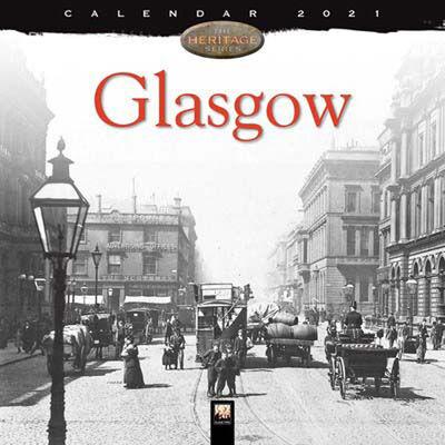 Glasgow Wall Calendar 2021 image number 1