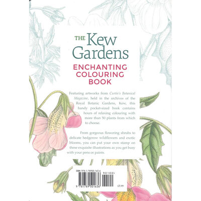 The Kew Gardens: Enchanting Colouring Book image number 2