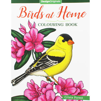 Birds at Home Coloring Book image number 1