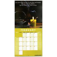 Zen 2022 Square Calendar and Diary Set