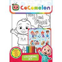 Cocomelon Colouring Set