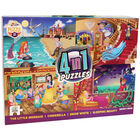 Princess Fairytales 4-in-1 Jigsaw Puzzle Set image number 1