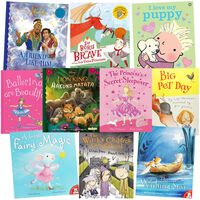 Princess and Ballerinas: 10 Kids Picture Books Bundle