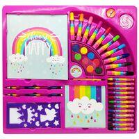 Unicorn Rainbow Stationery Set