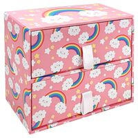 Pastel Rainbow 2 Drawer Unit