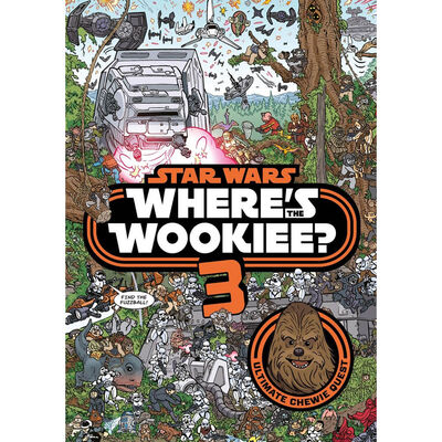 Star Wars: Where's the Wookiee 3? Search and Find Activity Book image number 1