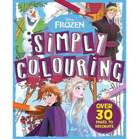 Disney Frozen: Simply Colouring