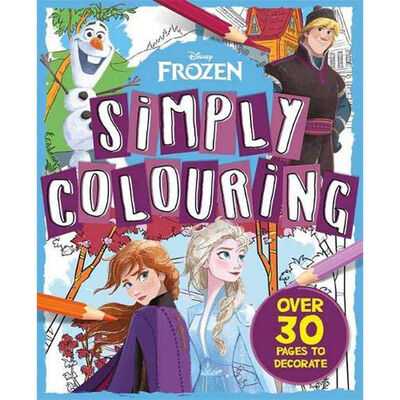 Disney Frozen Simply Colouring image number 1