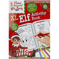 Elf Activity Book