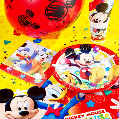 Mickey Mouse Small Paper Plates - 8 Pack image number 2